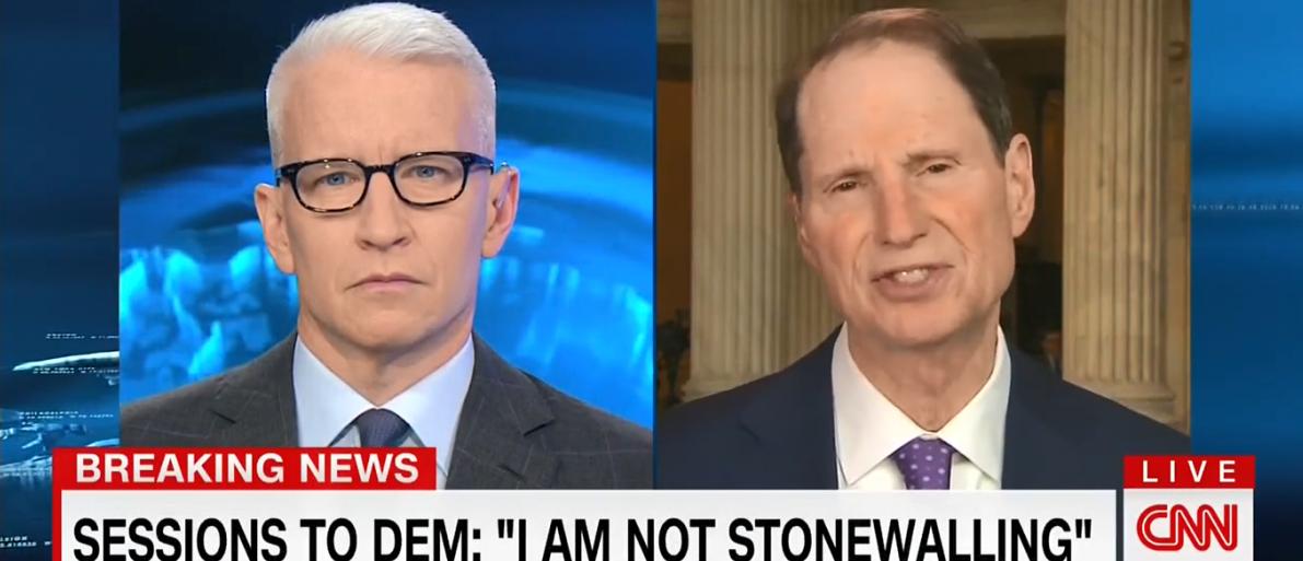 Ron Wyden CNN/TVeyes Screenshot