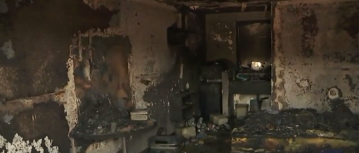 "Marijuana ""honey lab"" explodes. KTLA 5/Screenshot"