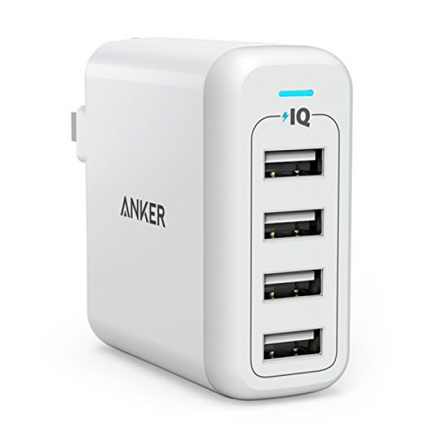 Normally $50, this wall charger is 62 percent off today (Photo via Amazon)