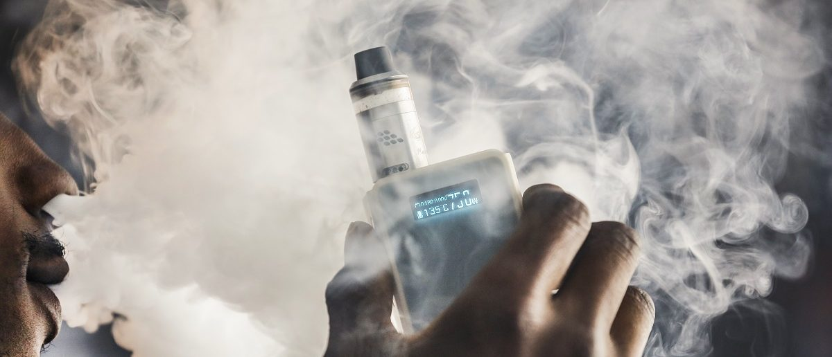 Study Sinks Claims Vaping Poses A Threat To Bystanders