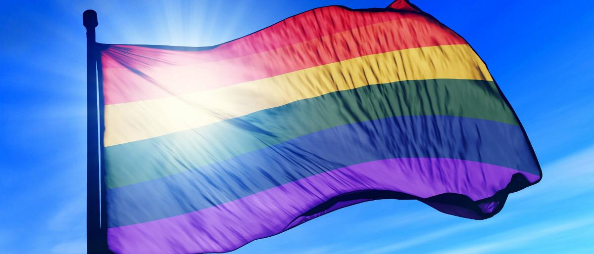 gay pride flag Shutterstock/iri Flogel
