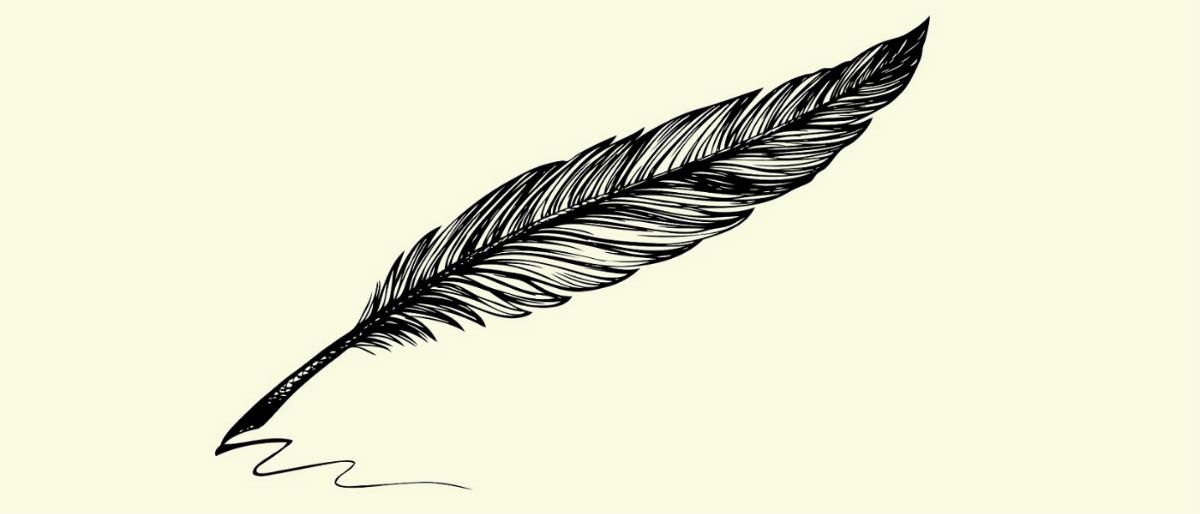 poetry quill pen Shutterstock/ArtMari