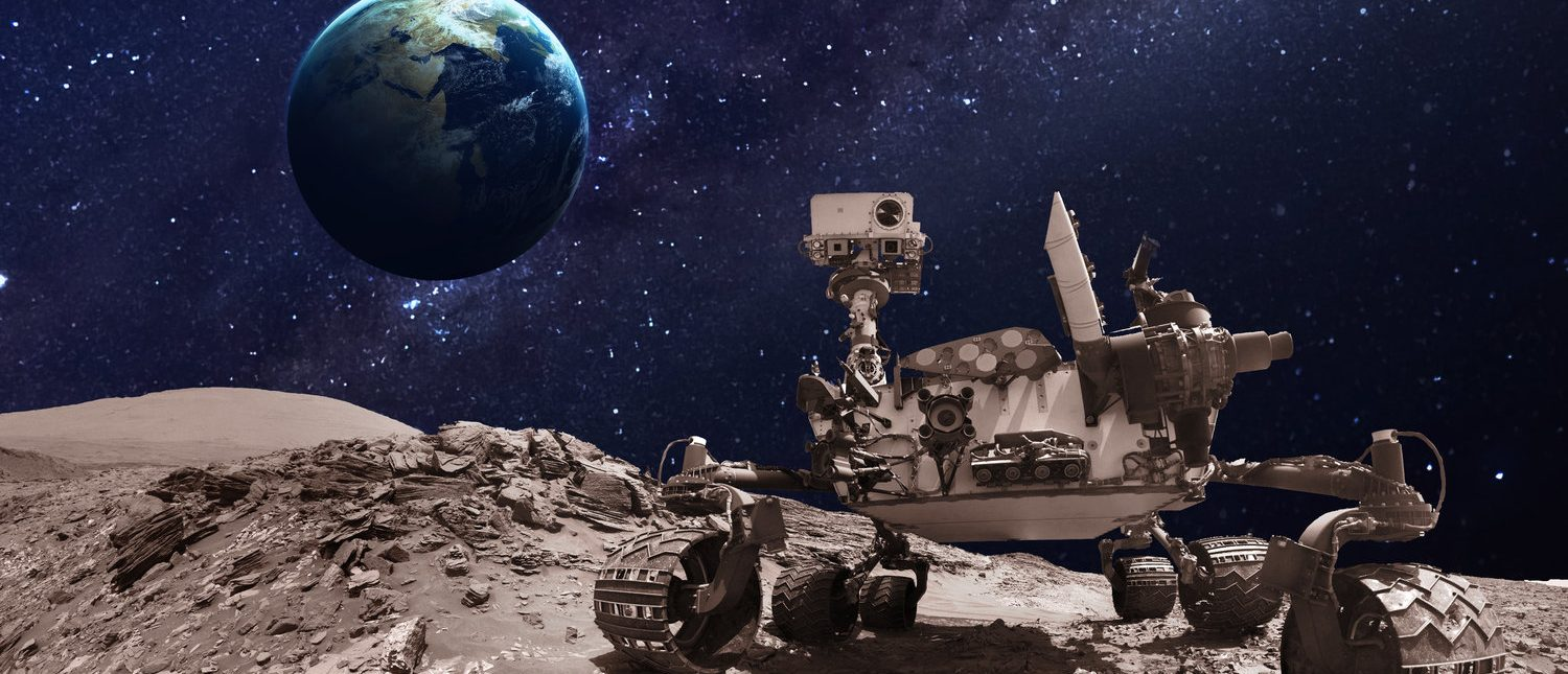 Mars rover. Elements of this image furnished by NASA (Shutterstock/Vadim Sadovski)