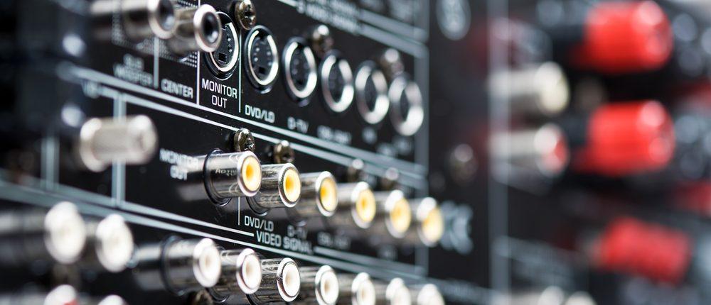 Hi-Tech AV Receiver (Photo via Shutterstock)