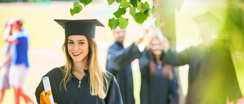 A graduating student (Shutterstock/fotoinfot)