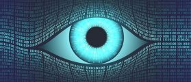 """""""Big Brother"""" conducting surveillance and spying on people. [Shutterstock - Valery Brozhinsky]"""