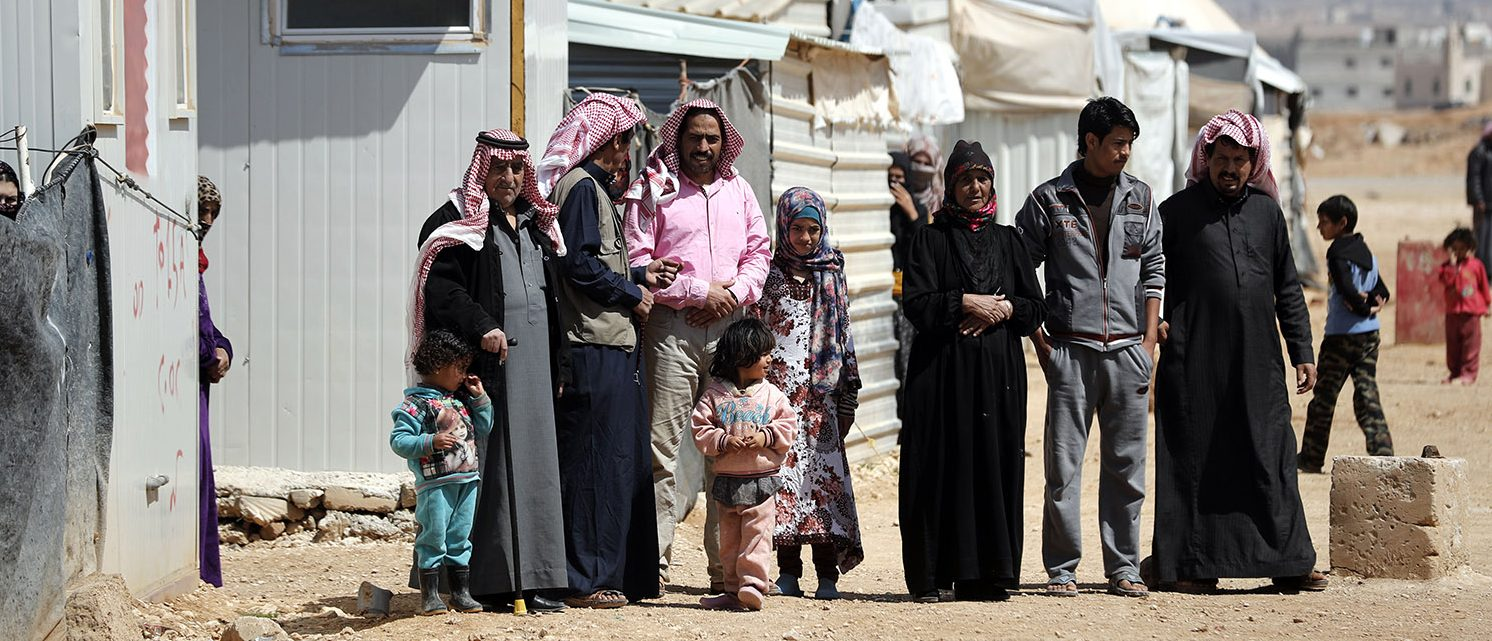 Syria's devastating civil war, now in its seventh year, has rendered more than half the country's population refugees. The conflict has left more than 320,000 people dead, according to the Syrian Observatory for Human Rights. (PHOTO: Getty Images/AFP/THOMAS COEX)