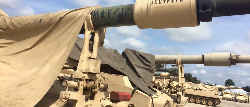 Army Tank Has 'Cofveve' Painted On Gun (Daily Caller)