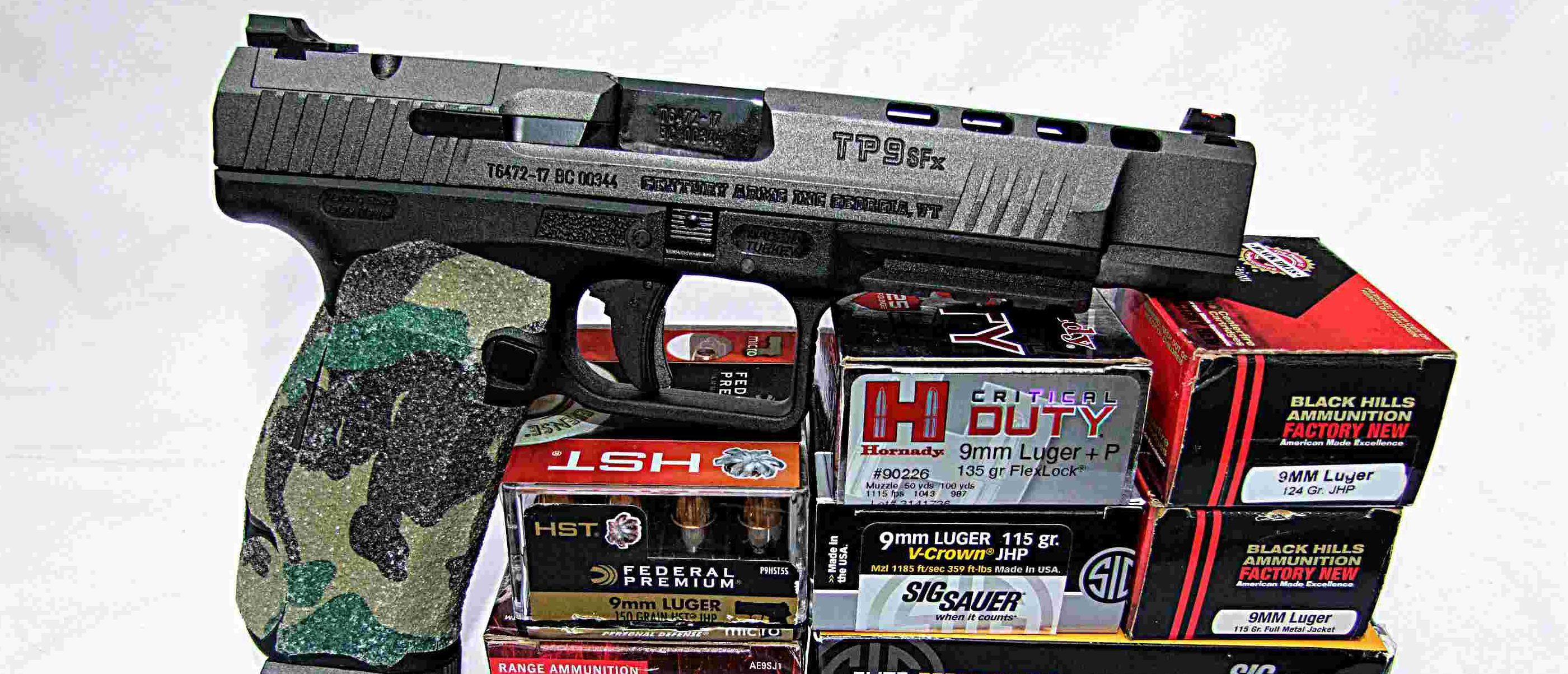 Gun Test: Canik TP9SFx | The Daily Caller