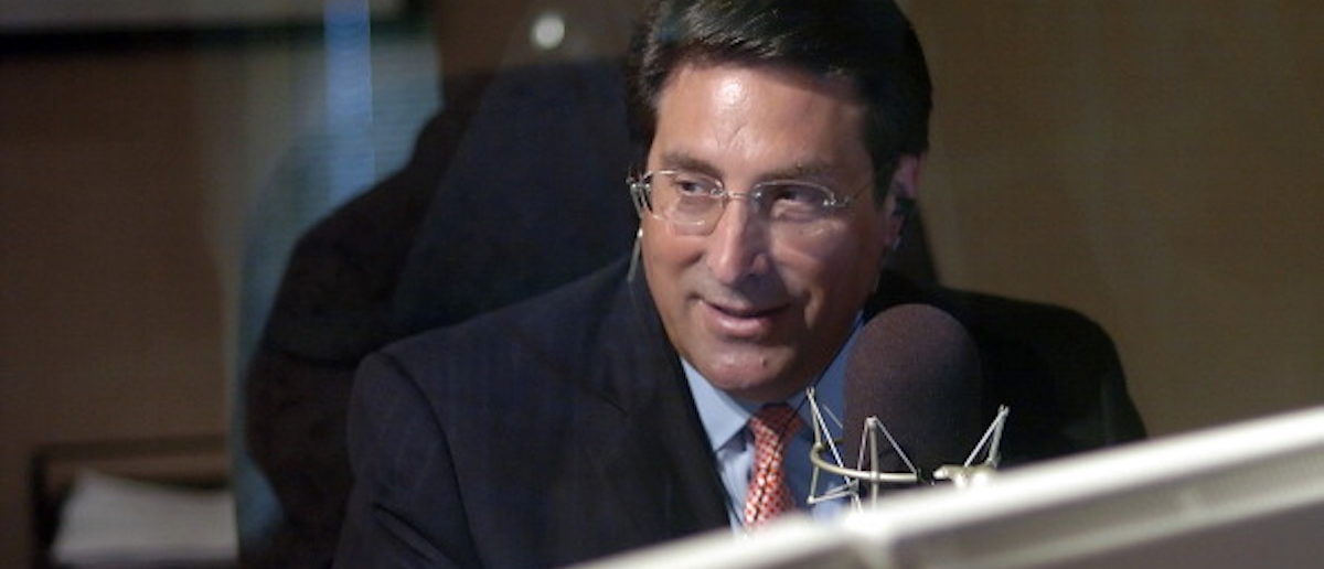 Jay Sekulow, the chief counsel for the American Center for Law and Justice (ACLJ), during his radio show broadcast from the Regent University Law School in Virginia Beach, Virginia, Thursday, August 9, 2007. The ACLJ is a pro-bono organization founded by Pat Robertson, who also founded the 700 Club and the Christian Broadcast Networks (CBN), based in Virginia Beach, Virginia. (Photo by Gary C. Knapp/Chicago Tribune/MCT via Getty Images)