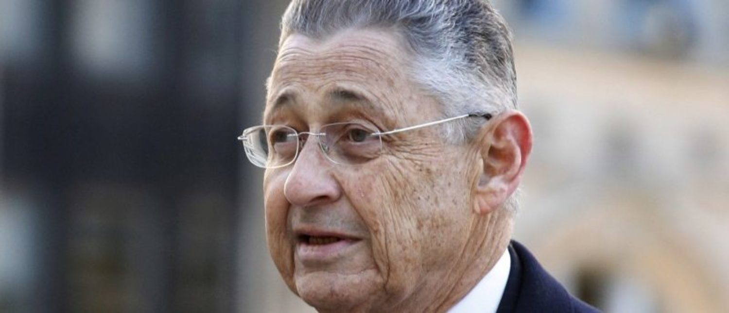 FILE PHOTO - Former New York State Assembly Speaker Sheldon Silver arrives at the Manhattan U.S. District Courthouse in New York, U.S. on November 23, 2015. REUTERS/Brendan McDermid/File Photo