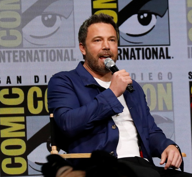 "Cast member Ben Affleck at a panel for ""Justice League"" during the 2017 Comic-Con International Convention in San Diego, California, U.S., July 22, 2017. REUTERS/Mario Anzuoni"
