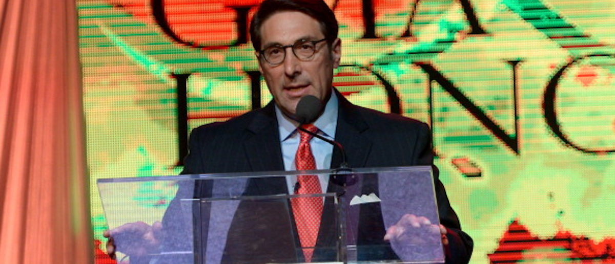 Chief Counsel for the American Center for Law & Justice Jay Sekulow hosts the GMA Honors Celebration and Hall of Fame Induction at the Allen Arena at Lipscomb University on April 29, 2014 in Nashville, Tennessee. (Photo by Rick Diamond/Getty Images for GMA)
