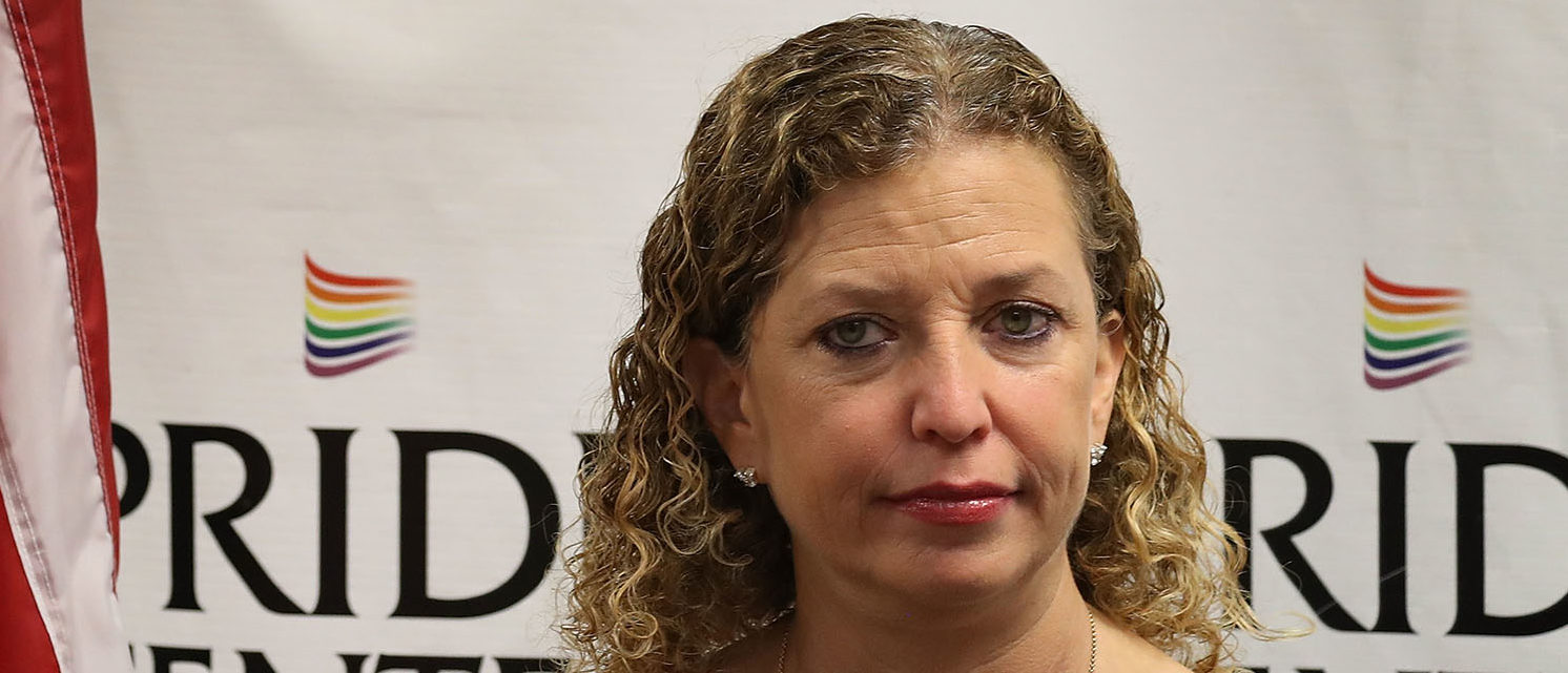 Rep. Debbie Wasserman Schultz (D-FL) attends a discussion about LGBT rights at the Pride Center on May 26, 2017 in Wilton Manors, Florida.  The discussion centered around the Equality Act, a bill that hopes to amend the Civil Rights Act of 1964 to guarantee protections to LGBT individuals.  (Photo by Joe Raedle/Getty Images)