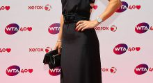 Caroline attends the WTA 40 Love Celebration during   Wimbledon Tennis Championships at the All England Tennis and Croquet Club in June 2013 in London.  (Photo by Julian Finney/Getty Images)