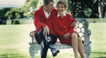 After it was discovered President Reagan was suffering from Alzheimer's, she established the Ronald and Nancy Reagan Research Institute in 1994 to support further research on the disease. (Photo:Getty)