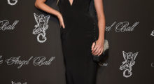 Elsa Hosk attending the Angel Ball 2014 hosted by Gabrielle's Angel Foundation in October 2014 in New York.  (Photo by Dimitrios Kambouris/Getty Images for Gabrielle's Angel Foundation)