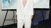This white suit is gorgeous on her! (Photo Credit: Getty Images)