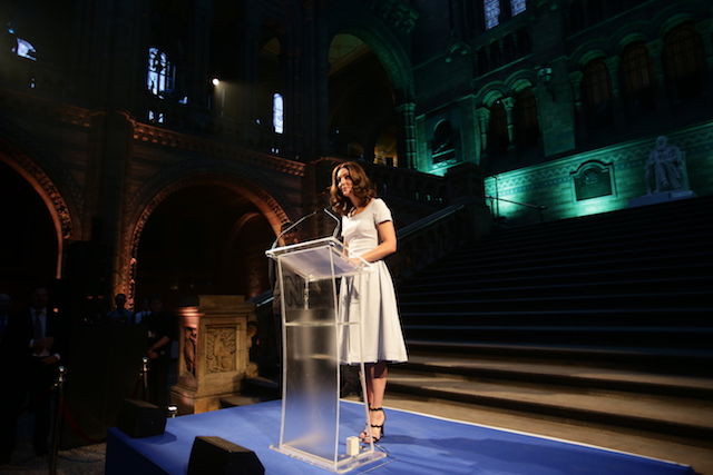 Duchess of Cambridge welcomes 'Hope' the whale to the Natural History Museum