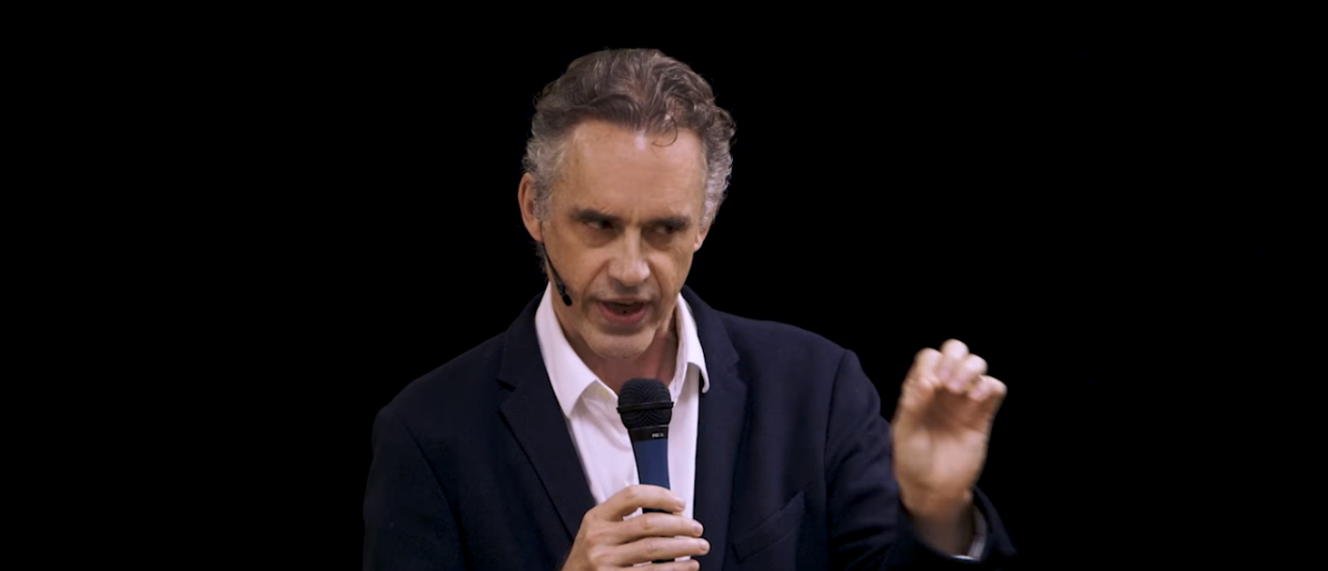 Jordan B Peterson describes a 21st-century conservatism in Carleton Place, Ontario (Photo Credit: YouTube/Jordan B Peterson)