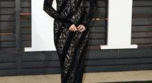 Selena rocks the black (Photo Credit: REUTERS)
