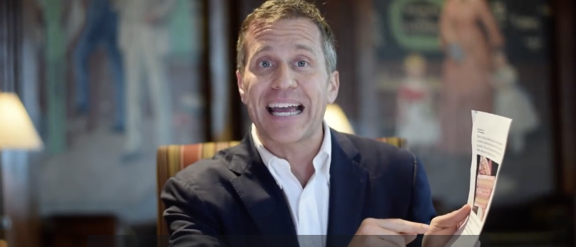Screenshot/Facebook/Eric Greitens