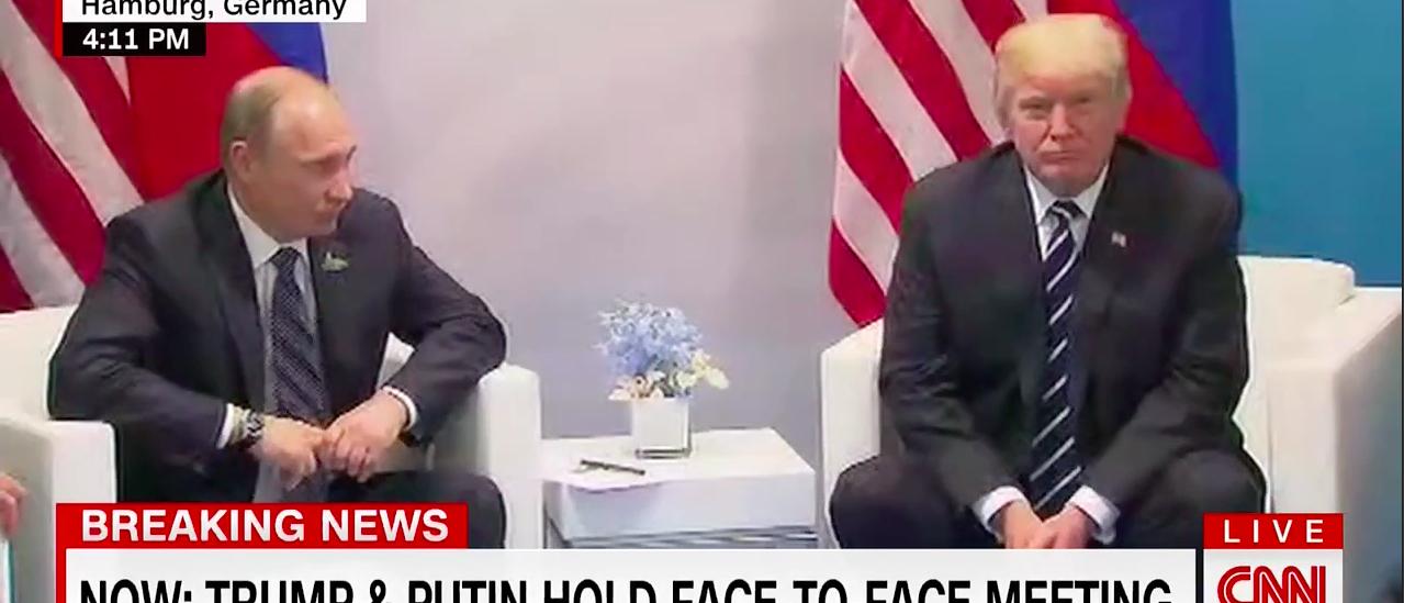 Vladimir Putin, Donald Trump (CNN)