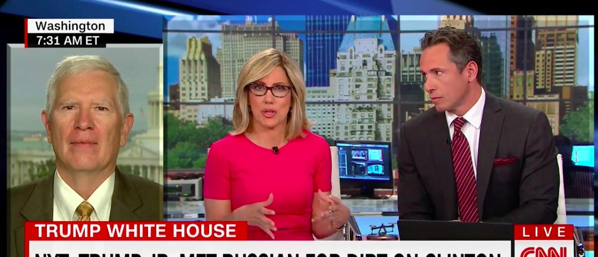 Screen Shot CNN's New Day (July 10, 2017)