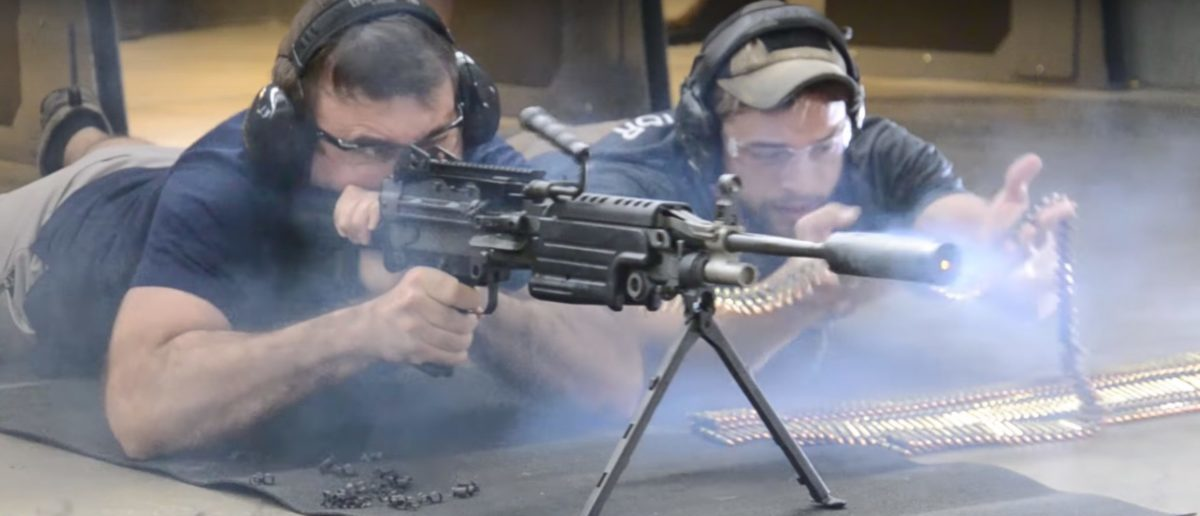 M249 SAW (Credit: Screenshot/YouTube   West Coast Armory)
