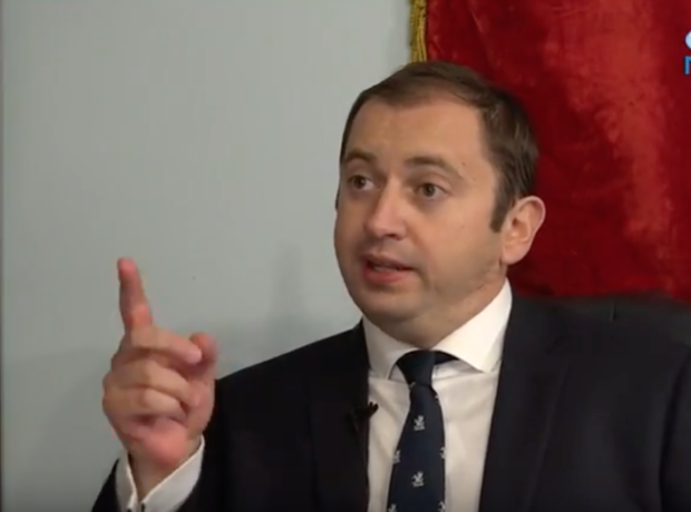 Sergei Millian in interview with TMD News. (Youtube screen grab)
