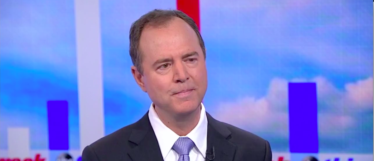 Screen Shot Rep. Adam Schiff (ABC: July 16, 2017)
