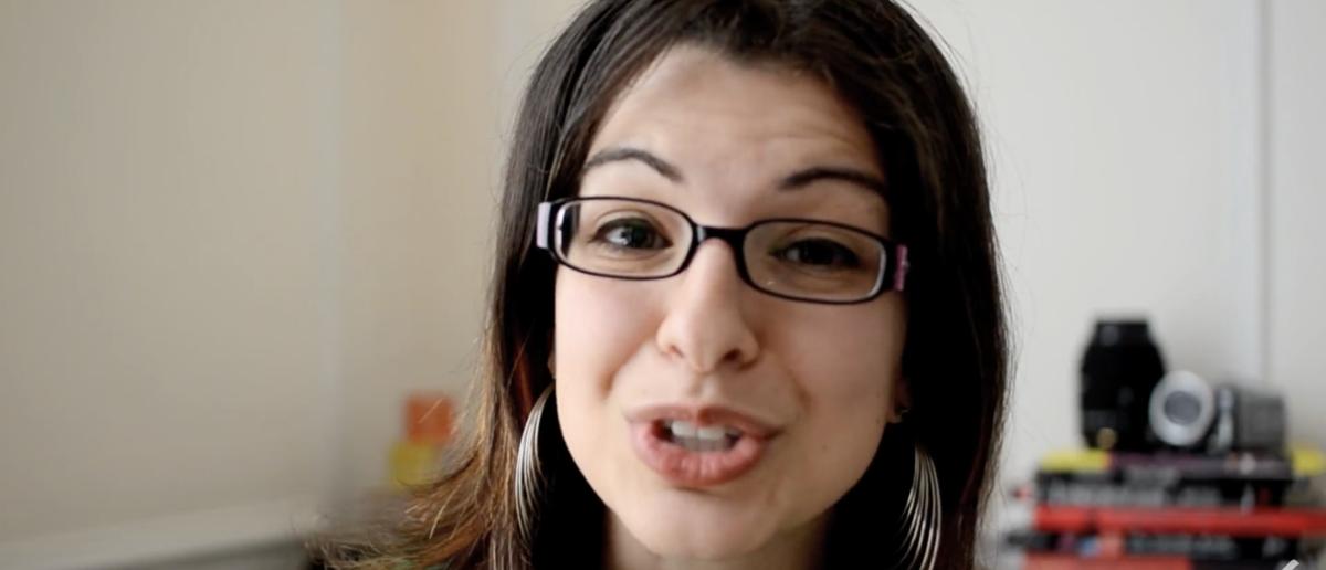Anita Sarkeesian (Screenshot/YouTube)