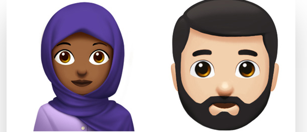 Some of the new emojis (screenshot/Apple press release)