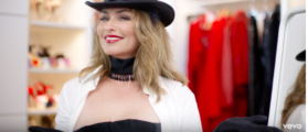 Shania Twain Rocks Familiar Mini-Dress In 'Life's About To Get Good' [VIDEO]