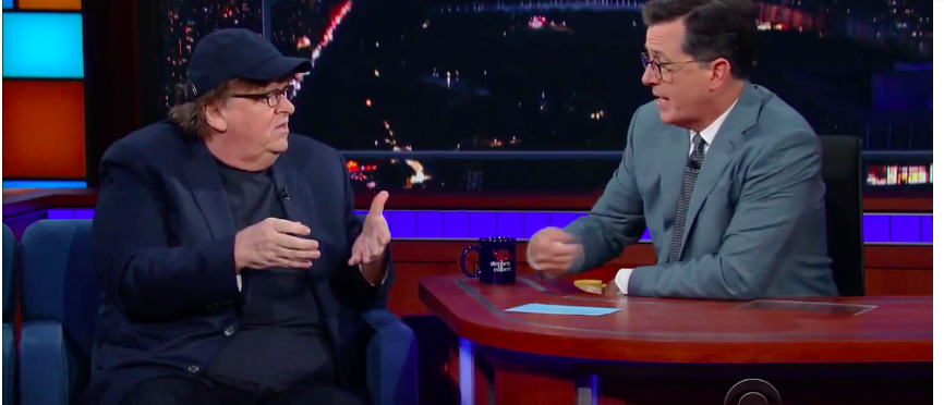 michael moore i refuse to live in a country where trump is