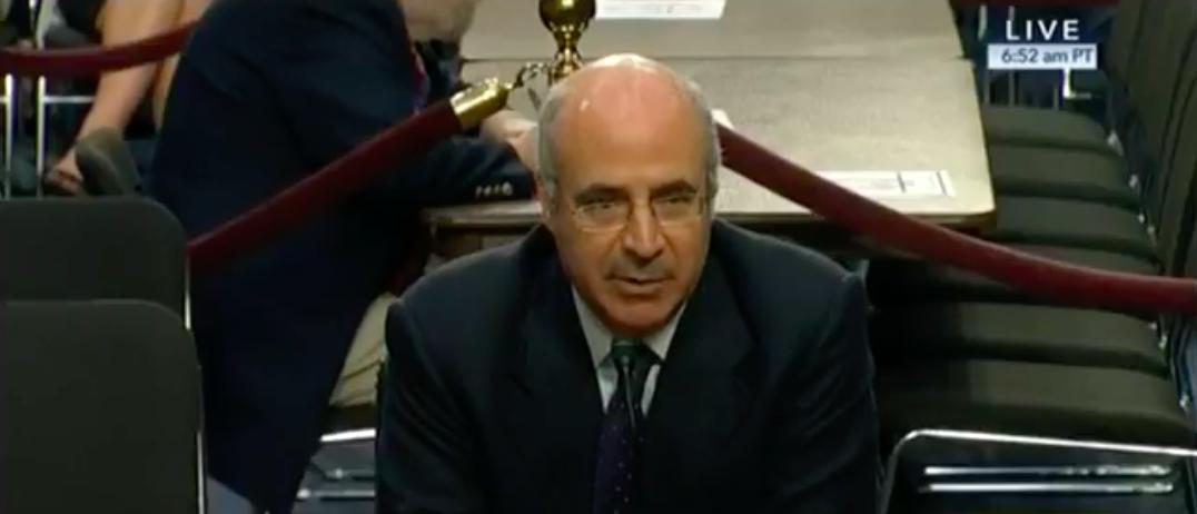 Screen Shot Bill Browder Testifies Before Senate Judiciary Committee (CSPAN: July 27, 2017)
