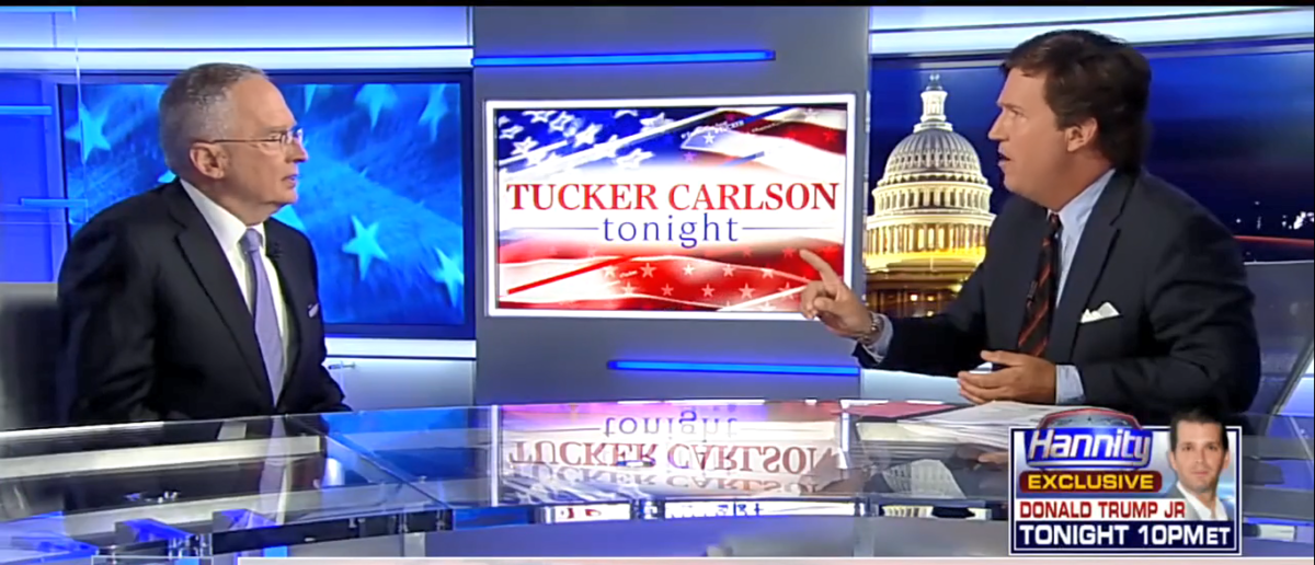Tucker Carlson Tonight 7-11-17/Screenshot/TvEyes