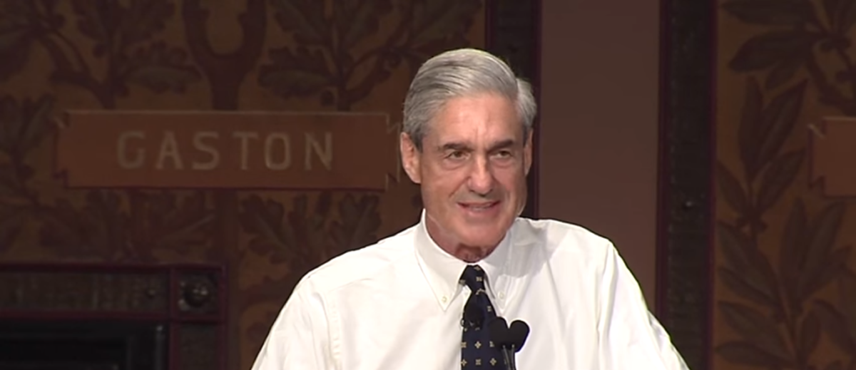 Bob Mueller Speech At Georgetown 2014/YouTube Screenshot/Georgetown University