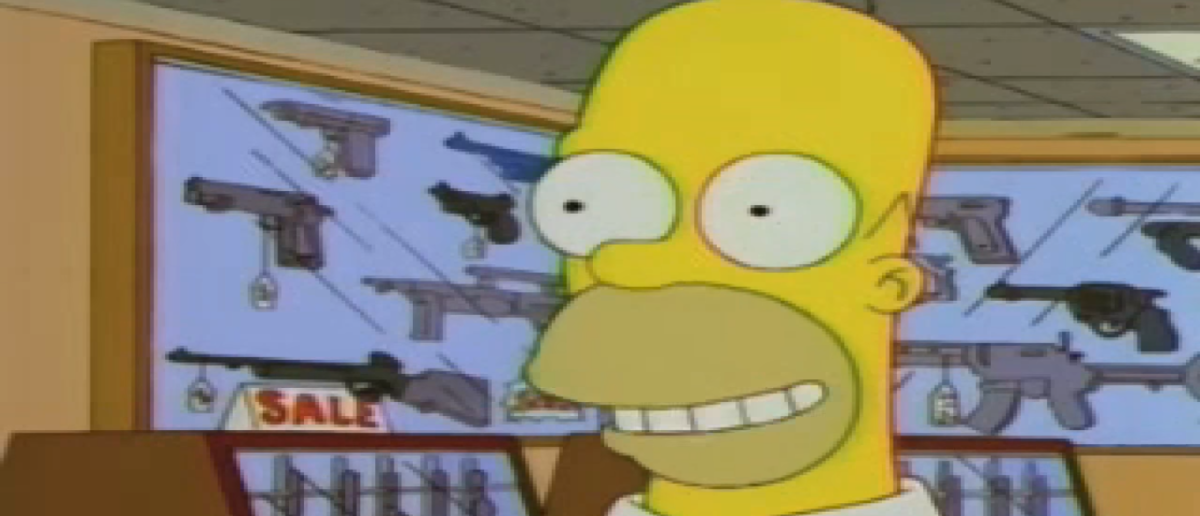 The Simpsons Cartridge Family/Homer Simpson/Screenshot Fox