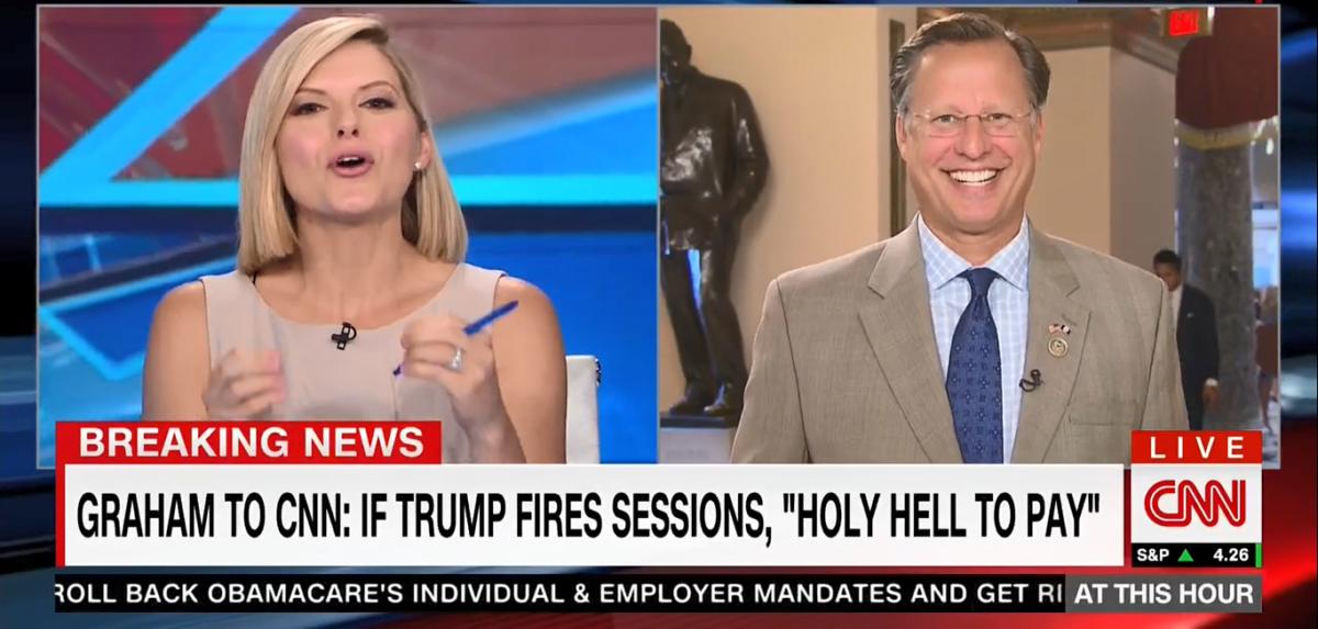Rep. Dave Brat CNN 7-27-17