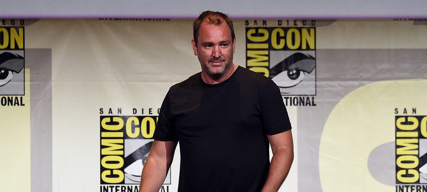 "Writer/producer Trey Parker attends Comedy Central ""South Park 20"" during Comic-Con International 2016 at San Diego Convention Center on July 22, 2016 in San Diego, California.  (Photo by Kevin Winter/Getty Images)"