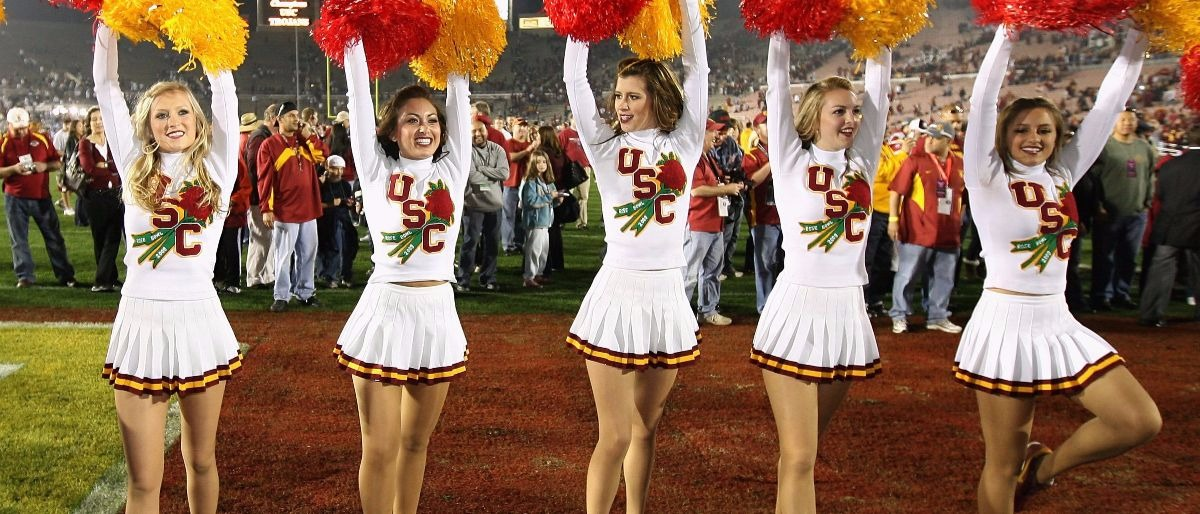 USC song girls Getty Images/Christian Petersen