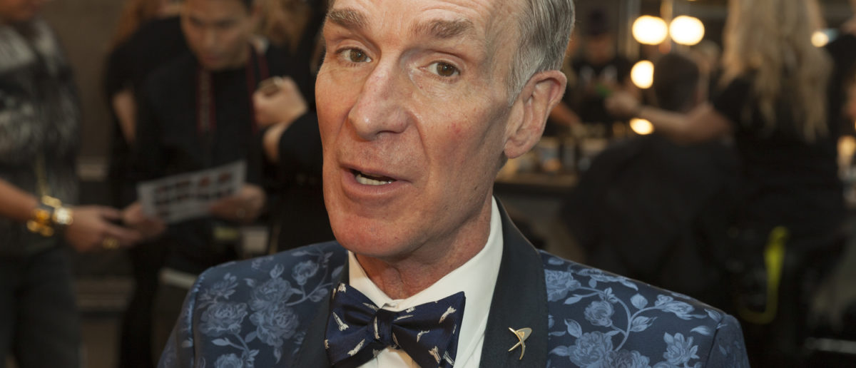 New York, NY USA - February 1, 2017: Bill Nye attends the blue jacket fashon show in support for prostate cancer awarness during New York Fashion week at Pier 59 Editorial credit: lev radin / Shutterstock.com