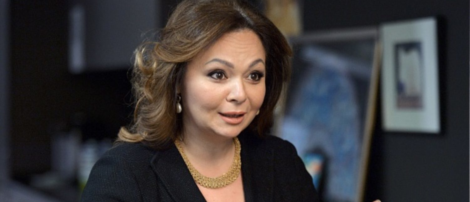 A picture taken on November 8, 2016 shows Russian lawyer Natalia Veselnitskaya speaking during an interview in Moscow. The bombshell revelation that President Donald Trump's oldest son Don Jr. met with a Kremlin-tied Russian lawyer hawking damaging material on Hillary Clinton has taken suspicions of election collusion with Moscow to a new level. / AFP PHOTO / Kommersant Photo / Yury MARTYANOV / Russia OUT (Photo credit should read YURY MARTYANOV/AFP/Getty Images)