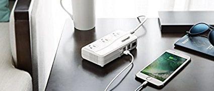 BESTEK universal travel adapter (Photo via Amazon)