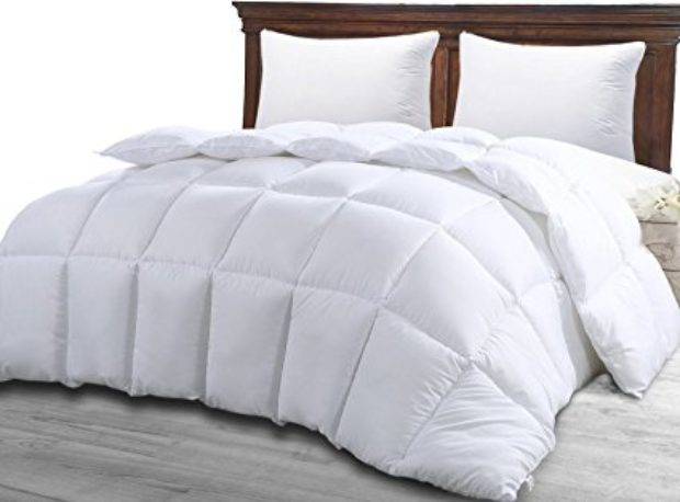 Normally $70, this comforter is 50 percent off right now (Photo via Amazon)