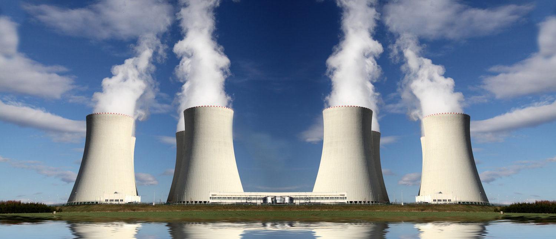 Nuclear power plant Temelin in Czech Republic Europe (Shutterstock/Martin Lisner)