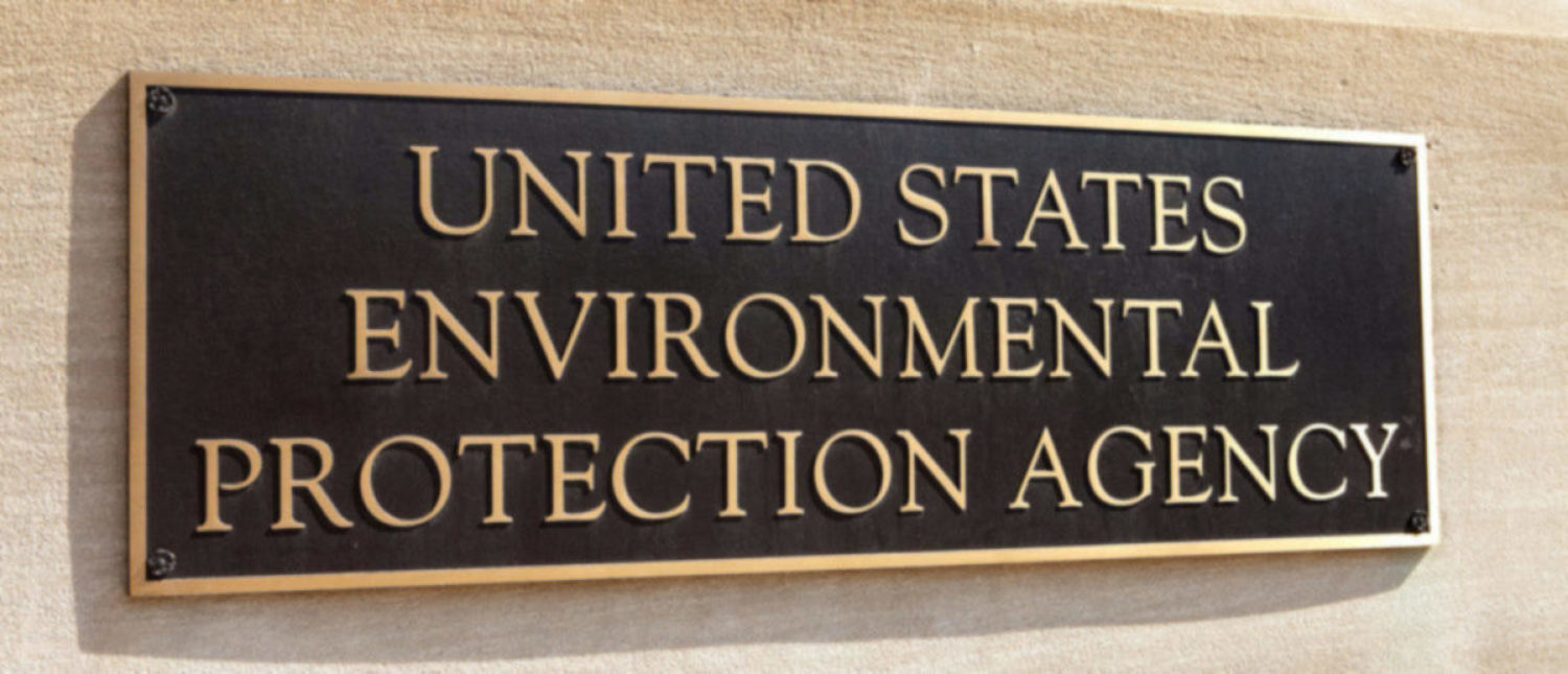 WASHINGTON, DC - MAY 4: Plaque outside the United States Environmental Protection Agency (EPA) in downtown Washington, DC on May 4, 2015.(Shutterstock/Mark Van Scyoc) WASHINGTON, DC - MAY 4: Plaque outside the United States Environmental Protection Agency (EPA) in downtown Washington, DC on May 4, 2015.(Shutterstock/Mark Van Scyoc)