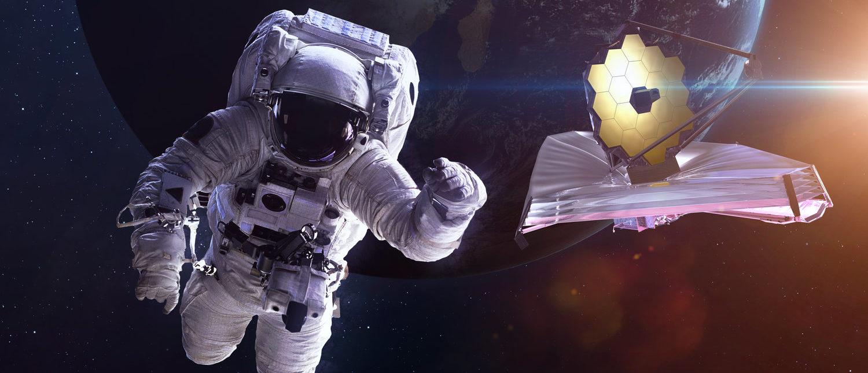 James Webb Space Telescope. This image elements furnished by NASA (Shutterstock/Vadim Sadovski)
