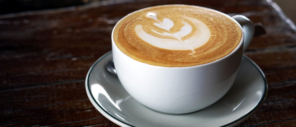This is what a cappuccino looks like (Photo via Shutterstock)